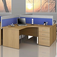 Modus Commercial Panel End Desks