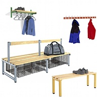Cloakroom, Benches & Stands