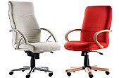 Assembled Executive Fabric Chairs