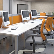 Presence Bench Desks
