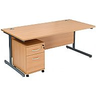 Next Day Karbon K1 Mobile Pedestal Desks