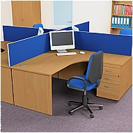Next Day Karbon Desk Mounted Screens