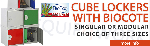 Cube Lockers With BioCote