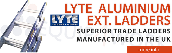 Lyte Professional Trade Aluminium Extension Ladders