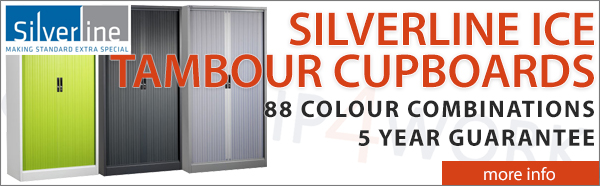 Silverline Ice Tambour Cupboards