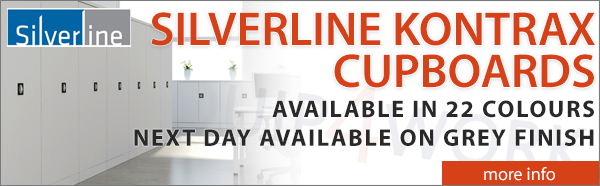 Silverline Kontrax Cupboards