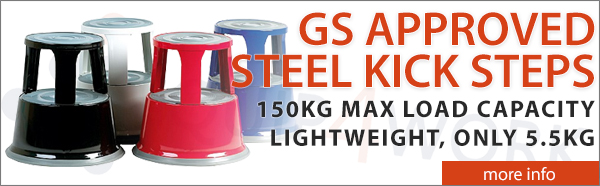 GS Approved Steel Kick Steps