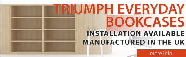 Triumph Everyday Wooden Bookcases