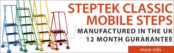 Steptek Classic Plus Mobile Steps Colour Range