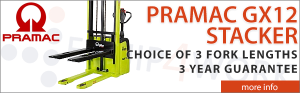 Pramac GX 12 Series III Edition Electric Pallet Stackers
