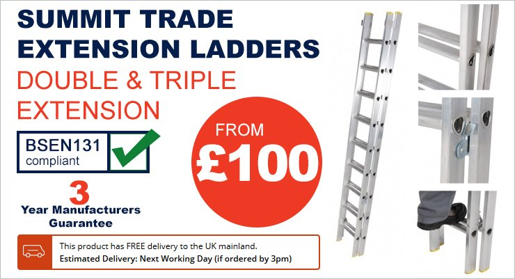 Summit Trade Extension Ladders