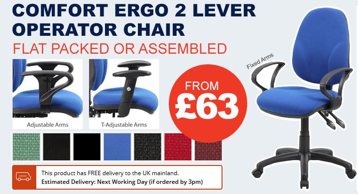 Comfort Ergo 2 Lever Operator Chairs