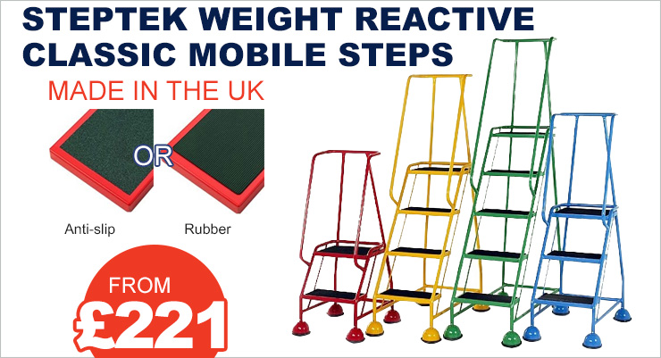 Steptek Classic Mobile Steps