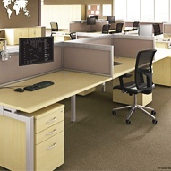 Linear Office Desks