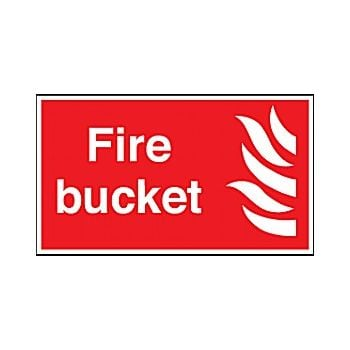 Fire Bucket Sign £3 -