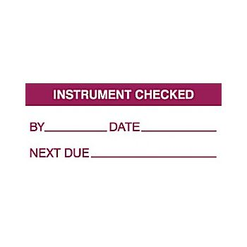 Instrument Checked Quality Labels