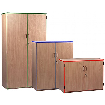 Coloured Edge Cupboards £200 -