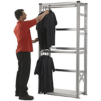 Supershelf Zinc Garment Racking £134 -