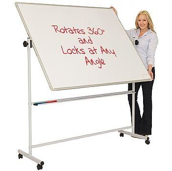 Ultralon Mobile Swivel Teaching Whiteboards