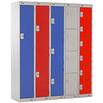 EXPRESS DELIVERY Metric Lockers With BioCote