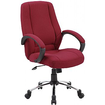Comfort Fabric Manager Chairs £82 -