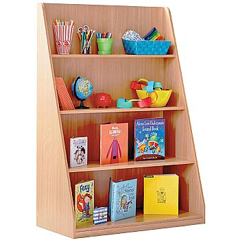 Library Unit With 4 Fixed Straight Shelves £164 -