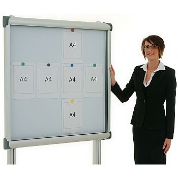 Province Post Mounted Tamperproof External Noticeboards £451 -