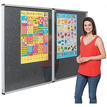 Eco-Colour Tamperproof Resist-A-Flame Noticeboards £101 -