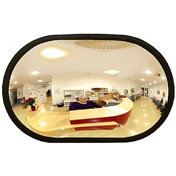 Detective Wall Mounted Oval Observation Mirrors £62 -