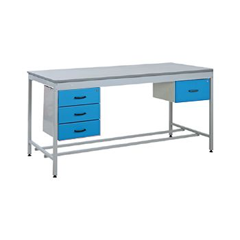 Taurus Utility Workbench With Single Drawer And Three Drawer Pedestals £895 -