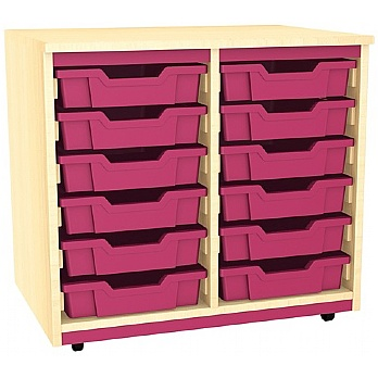 Splash Double Column 12 Tray Storage Unit £156 -
