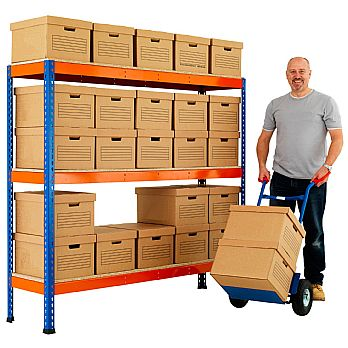 BiG400 Archive Storage Bay With Standard Boxes £197 -