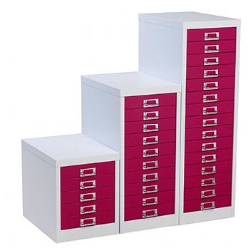 Silverline Two Tone Multidrawer Cabinets £50 -
