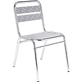 Aluminium Bistro Side Chair (Minimum 4)