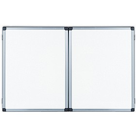 Bi-Office Trio Magnetic Space-Saver Whiteboards