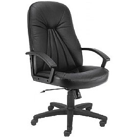 Feniks Leather Faced Manager Chair