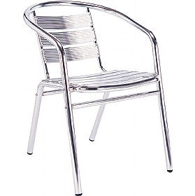 Aluminium Bistro Arm Chair (Minimum 4)