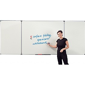 Write-On 5 Spacesaver Whiteboards