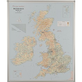 UK Road And Terrain Map Cheap UK Road And Terrain Map From Our - Terrain map uk