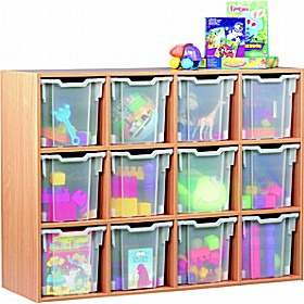 12 Tray Jumbo Static Storage