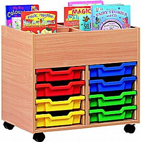 4 Compartment 8 Tray Kinderbox