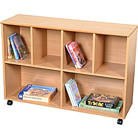 Rectangular Storage Unit Beech