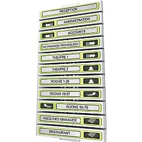 Show Point Directional Sign Boards