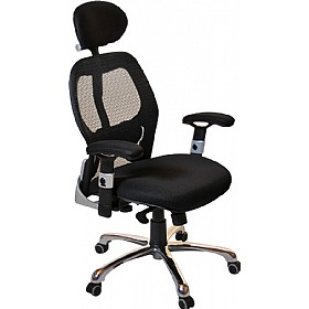 Ergo-Tek Mesh Manager Chair £129 - Office Furniture