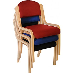 Devonshire Wooden Frame Stacking Chairs