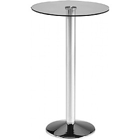 Glass Poseur Table £245 - Office Furniture