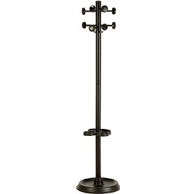 Roma Black Coat Stand £53 - Office Furniture