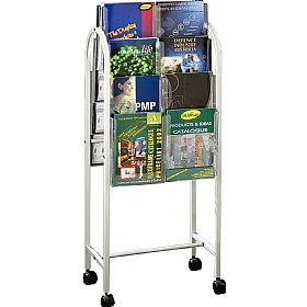 Literature Trolley 16x A4 Pockets