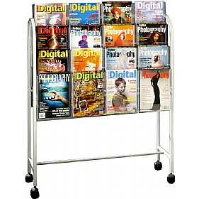 Literature Trolley 32x A4 Pockets
