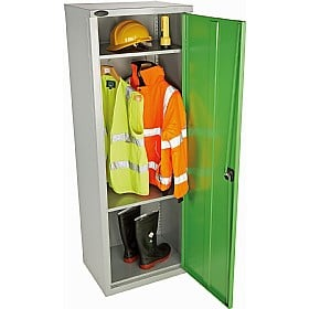 High Capacity Locker With Active Coat